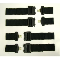 Replacement Strap/Buckles - 8pcs